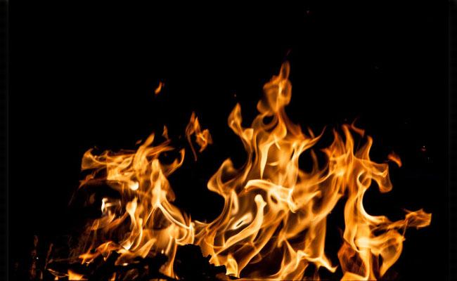 Incendio doméstico causado por estufas o radiadores.